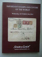 Important Stamps and Covers of the World October 2014 Briefmarken Philatelie