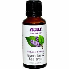 Lavender & Tea Tree (100% Pure), 1 oz - NOW Foods Essential Oils
