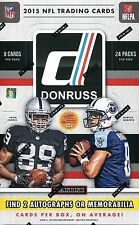 2015 DONRUSS FOOTBALL 1BOX BREAK~LIVE- CINCINNATI BENGALS - BOOMER - A.J. GREEN