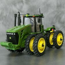 1/64 Farm custom scratch 14.9R50 4WD tractor tire kit yellow rims + axels