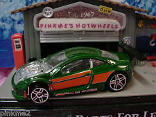 2011/2012 Hot Wheels CUSTOM COUGAR∞Green ∞New Loose∞Multi Pack Design Exclusive