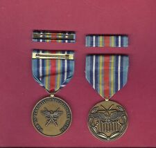 War on Terror WOT Expeditionary Military Award medal with ribbon bar GTC