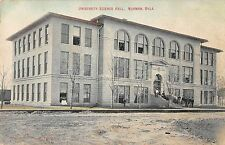 Norman Oklahoma University Science Hall Antique Postcard (J35363)