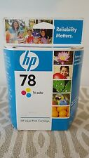 Sealed Genuine OEM HP 78 Tri-Color Ink Cartridge C6578DN w/ FREE US Shipping !!!