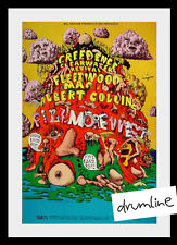 Creedence Clearwater Fleetwood Mac Concert Poster 1969 1St Print Fillmore West