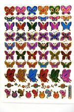 Butterfly Stickers Scrapbook Labels for Teacher Kid Project School Reward.
