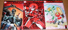 LOT: 3 Revolution #4 Variants 1:50 1:25 1:10 Art Baltazar Guidi MASK GI Joe IDW