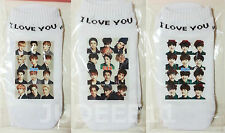 3PAIRS EXO Collection Cotton Ankle Socks K POP CHEN KAI KRIS TAO BAEKHYUN