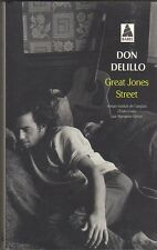 Don Delillo - Great Jones Street - Babel  2014 - Tb état