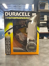 IPHONE4 Duracell Gooseneck FM Transmitter/Charger with Autoscan