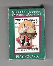 NORMAN ROCKWELL The Saturday Evening Post CHRISTMAS PLAYING CARDS #338 1996