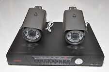 Surveillance Security Network Recorder NVR 2X 1080P 300-FT IP Zoom Camera System