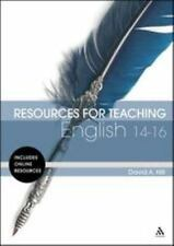 Hill David A.-Resources For Teaching English: 14-16   BOOK NEW