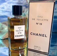 *No 19 by CHANEL* *8 FL OZ  VINTAGE EDT SPLASH* *VINTAGE FORMULATION*