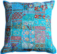 """24x24"""" Turquoise Decorative throw Pillows for couch, bed Outdoor toss pillows"""