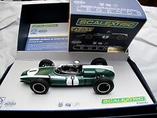 "Scalextric  GP Legends - Cooper Climax  ""J. Brabham""   Art.  C3658A"