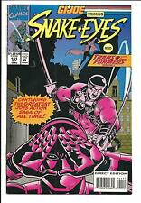 G.I.JOE: SNAKE EYES # 141 (TRANSFORMERS, OCT 1993), NM-