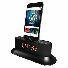 Mercury Docking Station Speaker Dock Alarm for iPod / iPhone 5 5S 5C 6 6+