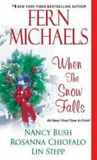 When The Snow Falls (Wheeler Large Print Book Series)