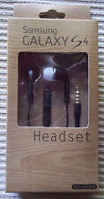New Samsung Handsfree Headphones Earphones For Galaxy S4, S5, Note 2, 3 (Black)