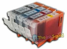 4 Canon Pixma PGI-5 CLI-8 Ink Cartridges for MP520