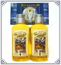 2 HOLY ANOINTING OIL Frankincense Myrrh 250 Ml - Blessed Jerusalem Holy Land Oil