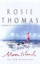 Isla de la Luna por Rosie Thomas (de Bolsillo, 1998) ficción Bestseller Libro Muy Bueno!