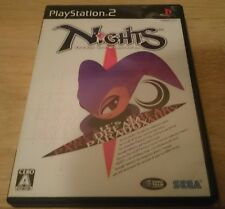 nights in to dreams PlayStation 2 Japanese Import NTSC