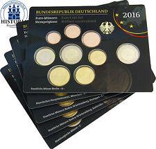 Deutschland 5 x 5,88 Euro 2016 Stgl. Dresdner Zwinger Komplettsatz Mzz. A - J