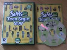 The Sims 2 Teen Style Stuff Expansion Pack PC CD ROM / Windows