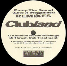 CLUBLAND - Pump The Sound  Remixes / Let's Get Busy - Remix Morales