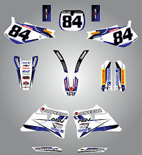 Full  Custom Graphic Kit - STORM - Yamaha YZ  250  1993 - 1995 decals / stickers