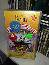THE BEATLES - MAGICAL MYSTERY TOUR - VIDEO VHS SIGILLATA/SEALED