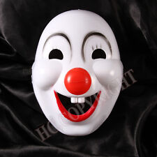 Circus Clown Mask Adult Unisex Carnival Halloween Disguise Fancy Dress Doll Fun