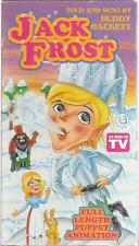 Jack Frost Vhs 1993 Buddy Hackett Puppet Animation very good