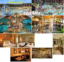 Wyndham Glacier Canyon Resort 3BR/2BA DLX September 25-28 Wisconsin Dells Rental