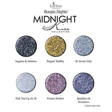 EzFlow Boogie Nights - Midnight Kiss Collection 2015 - Glitter Acrylics- 7g each