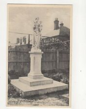Statue Of St Joseph Catholic Church Of Our Lady Aldeburgh Vintage Postcard
