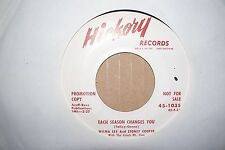 WILMA LEE AND STONY COOPER,  EACH SEASON CHANGES YOU,  HICKORY DEMO USA 1955  EX