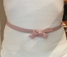 New Mimco Blossom Pink Patent Leather Belt Small - Medium Fits 66-82cm+ Dust Bag