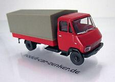 Brekina 37705 Steyr 590 Pritsche / Plane- Leicht-LKW -  rot