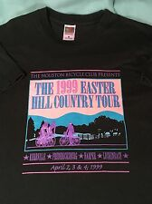 Vintage 1999 Easter Hill Country Tour Houston Bicycle Club T-shirt Mens Large