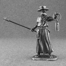 New Medieval 1/32 Plague Doctor Miniature Civilian Man Tin Toy Soldiers 54mm