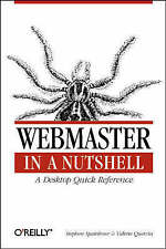 WebMaster in a Nutshell by Valerie Quercia, Stephen Spainhour (Book, 1996)