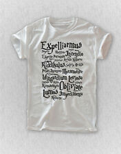EXPELLIARMUS SHIRT HARRY POTTER MAGIC SPELL T-SHIRT UNISEX TEE TOP CLOTHING