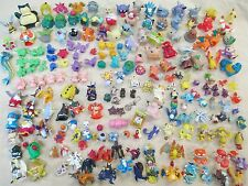 HUGE x200 POKEMON MINI FIGURE LOT TOMY BANDAI PVC POCKET MONSTER KIDS DIGIMON