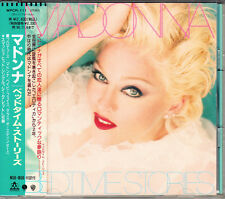 Madonna Bedtime Stories 1994 Japan CD 1st Press With Obi WPCR-111 HTF Very Rare