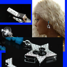"SWAROVSKI Ladies ""MICKEY MOUSE"" CRYSTAL EARRINGS w/ Box & Certificate"