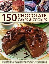 150 Chocolate Cakes and Cookies, Alex Barker, Very Good, Paperback
