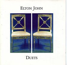 CD 16T ELTON JOHN DUETS DE 1993 LITTLE RICHARD/PAUL YOUNG/LEONARD COHEN/WYNETTE